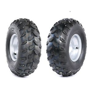 Pair-19x7-8-19-7-8-8-034-Tire-Assembly-Rim-ATV-GO-KART-QUAD-UTV-150CC-200CC-Taotao
