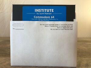 """Vintage Retro """"Institute"""" By Jyym Pearson Commodore 64 5.25"""" Floppy Disk"""