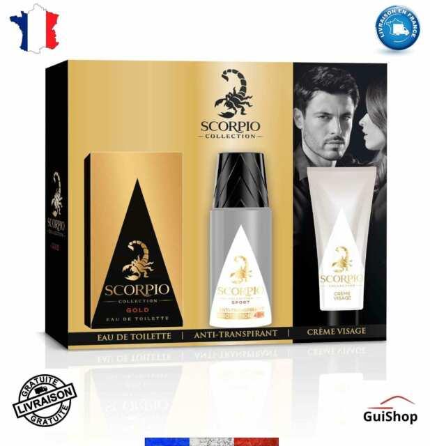Parfum Déodorant Gel Crème Visage Homme Cadeau Noël Beauté Soins Coffret Kit