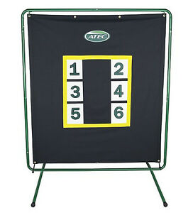 ATEC-WILSON-PRO-PITCHER-SCREEN-BACK-STOP-TARGET-W-STAND-AT2074-ON-SALE