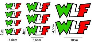 Details About Decals Adesivi Valentino Rossi 46 The Doctor Aufkleber Sticker Wlf W La Fica
