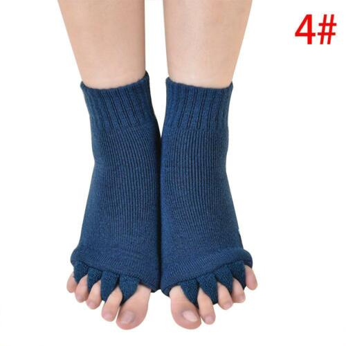 Fuß Schmerzlinderung 1 Paar Fünf Finger Zehensocken Yoga GymMassage Fußsocken