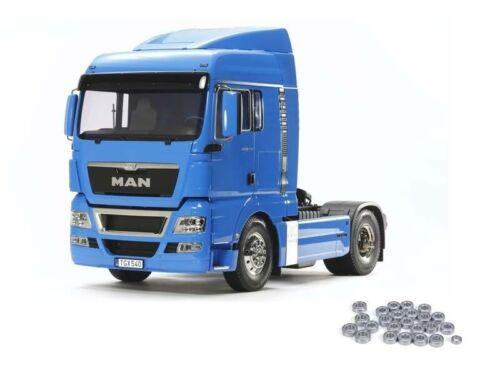 Tamiya MAN TGX 18.540 4x2 XLX 56350KU Kugellager French Blue 1:14 Truck