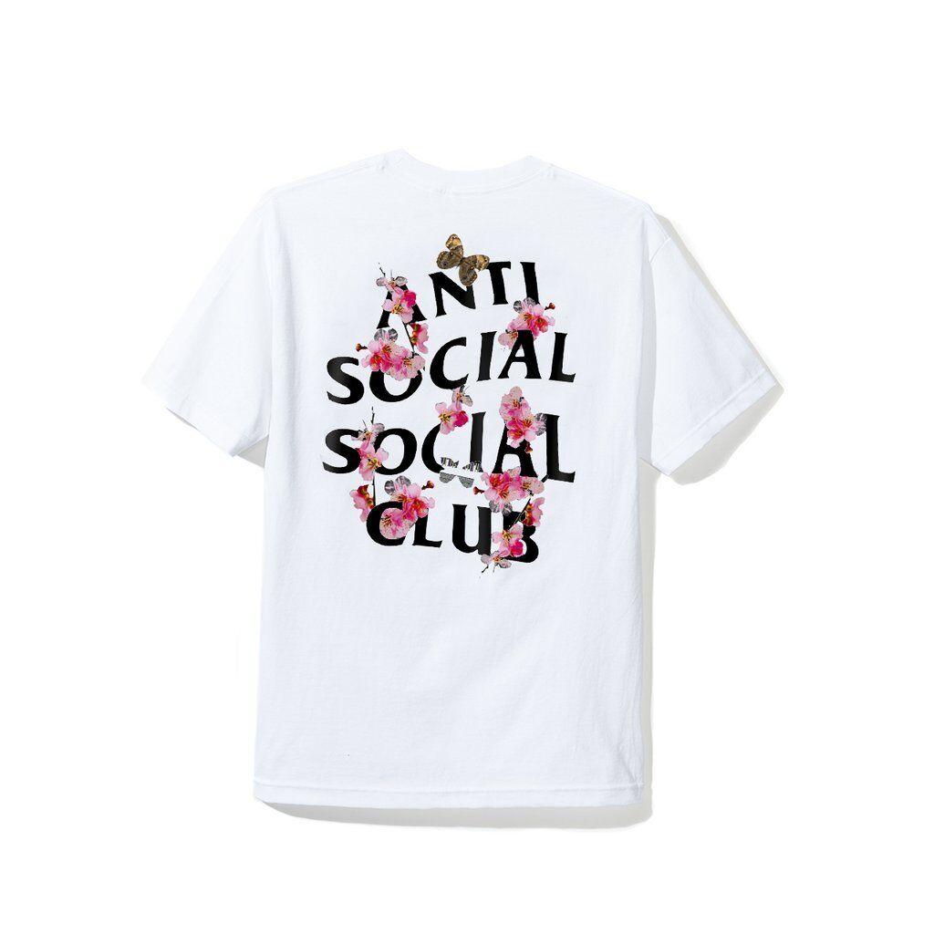 Anti Anti Anti Social Social Club Kkoch bianca Tee T-Shirt ASSC Size S M L W/Receipt cd1c82