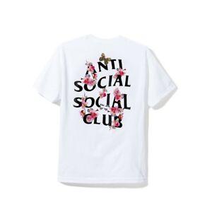 c1af40761b84 Anti Social Social Club Kkoch White Tee T-Shirt ASSC Size S M L W ...