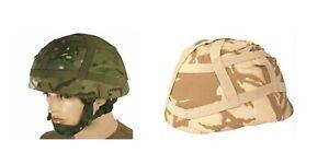 BRITISH ARMY MTP Desert HELMET COVER MK6 Mk7 COMBAT ISSUED SURPLUS PARA SAS