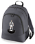 Football-TEAM-KIT-COLOURS-West-Bromwich-Supporter-unisex-backpack-rucksack-bag miniatuur 4