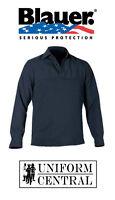 Blauer Dark Navy Polyester Armorskin Winter Fleece Base Shirt - 8373
