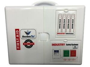 First Aid Kit QuickAid 150Person 3 Shelf Cabinet Class A ANSI Z308.1 2015