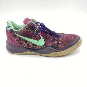 Nike Zoom Kobe VIII 8 Pit Viper Purple Basketball Shoes DS
