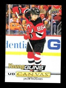 2019-20-UPPER-DECK-SERIE-2-YOUNG-GUNS-CANVAS-JACK-HUGHES-C239-New-Jersey-Devils