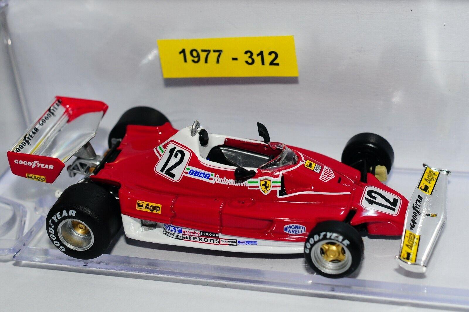 Model Ferrari 1 43 Ferrari F1 F1 F1 1977 312 T2 num 12 Reutemann 59d8b2