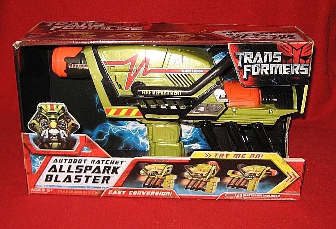Hasbro TRANSFORMERS 2007 Movie ALLSPARK Autobot RATCHET BLASTER New Cosplay