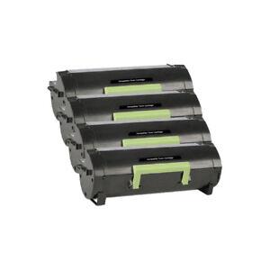 4-Pack-60F1000-Toner-Cartridge-for-Lexmark-MX310dn-MX410de-MX510de-MX511dte