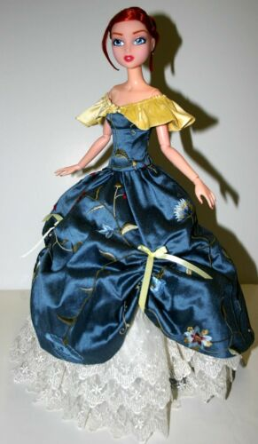 """Southern Belle Doll Clothes Sewing Pattern for 15.75/"""" City Girl Dolls Tonner"""