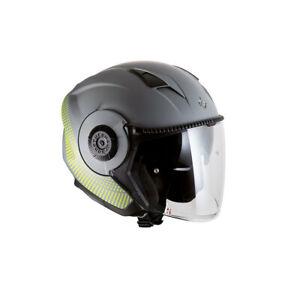 Casco Helmet Capacete Demi-jet Tucano Urbano El Tange Grigio Opaco Taglia L