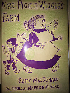 Mrs Piggle Wiggle S Farm 1st Macdonald Illus Signed Sendak Signed Ebay