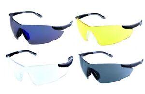 Impact Yellow Safety Clay Pigeon Shooting Glasses Eyelevel Sunglasses UV 400