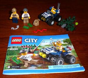60065 ATV PATROL city town lego legos set NEW sealed police swamp
