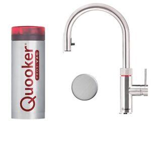 100 C Quooker Flex Pro3 Vaq Edelstahl Kochender Wasserhahn