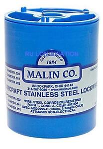 .021 Dia MS20995C Malin Aviation Stainless Steel Aircraft Lock//Safety Wire