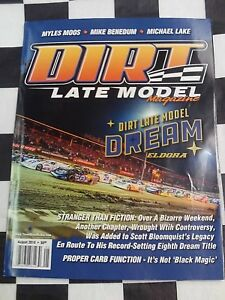 Details about Dirt Late Model Magazine March 2018 Racing Mag Myles Moos  Benedum Lake Eldora