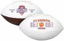 2017 College Football National Champions Full Sized Football Clemson Tigers