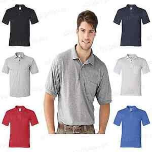 Gildan-DryBlend-Mens-Polo-Sport-Shirt-with-a-Pocket-Jersey-T-Shirt-S-5XL-8900-PI