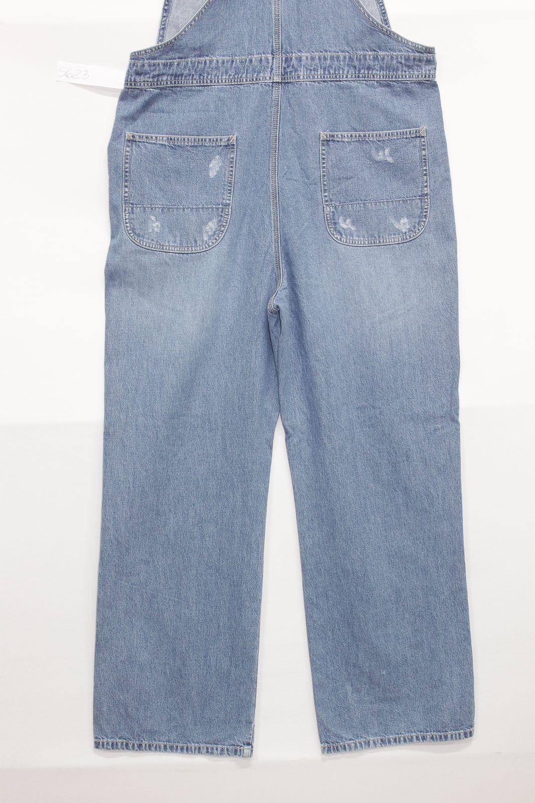 Salopette GAP GAP GAP (Cod. S623) tg.L Jeans usato vintage Custom rotture Boyfriend 54485b