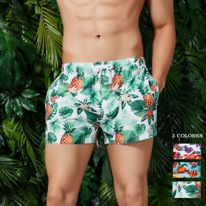 SEOBEAN-Quick-Drying-shorts-for-men-swimwear-beach-pants-Colorful-Board-Shorts