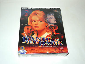 PANIC-IN-THE-PARK-new-factory-sealed-big-box-PC-game-with-Erika-Eleniak