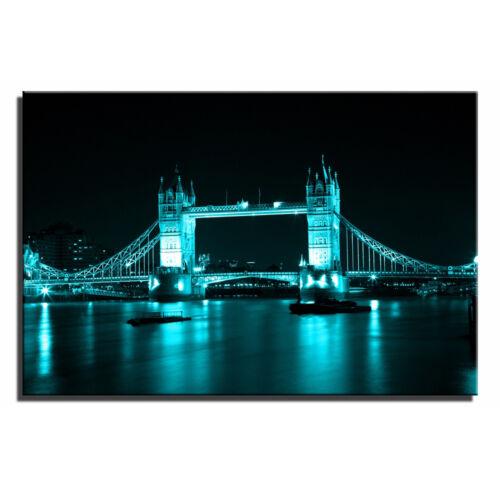 London Bridge SINGLE TOILE murale ART Photo Print l