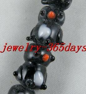 20pcs-Handmade-Glass-Bear-Spacers-11-5x14x11mm-P433