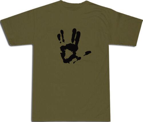 Live Long /& Prosper Star Trek COOL T-SHIRT # Army Green