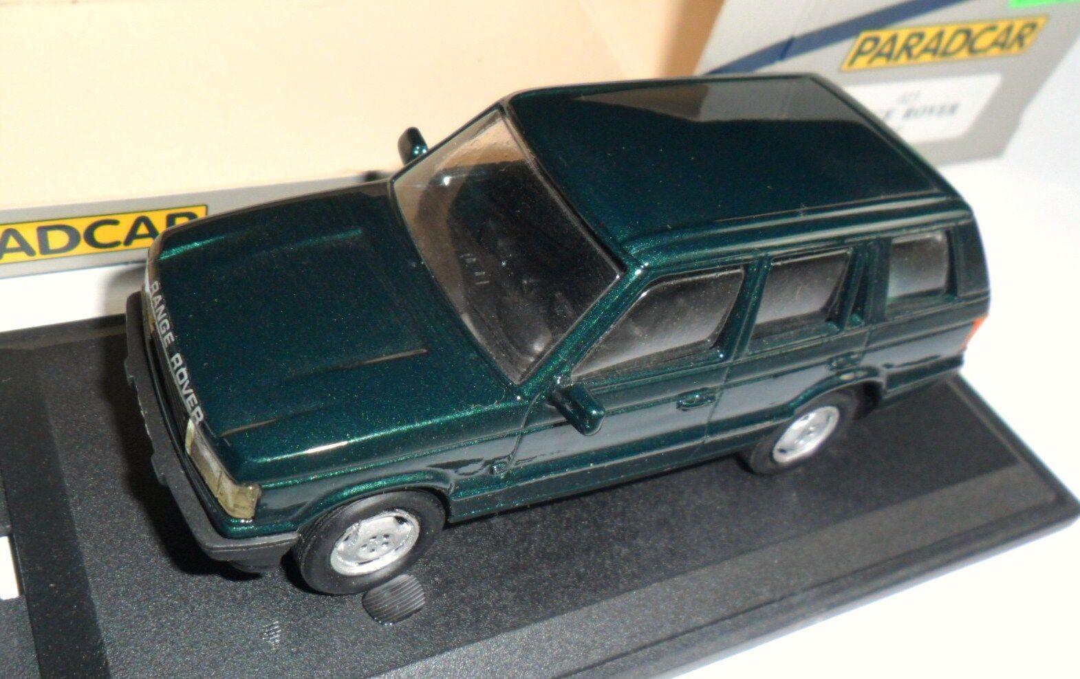 Range Rover Mk Mk Mk II 2 grün Grüne Grün metallic, Handmade PARADCAR in 1 43 boxed    Am wirtschaftlichsten  c8fcf8