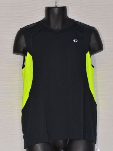 Pearl Izumi Men/'s Ultra Inside-Out Singlet Black and Green Size M