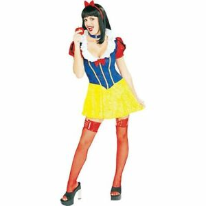 Rubie-039-s-Adult-Snow-White-Sexy-Costume-Extra-Small-New-Sexy-Halloween-Costume