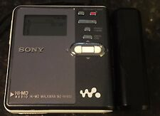 Sony MZ-RH910 MiniDisc Walkman Digital Music Recorder-Player w HiMD disc