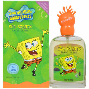 Spongebob-Sea-Scents-by-Nickelodeon-3-4-oz-EDT-Perfume-for-Women-New-In-Box