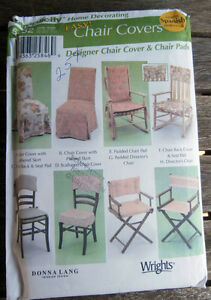 Oop-Simplicity-Easy-Chair-Covers-Pads-5952-Donna-Lang-NEW