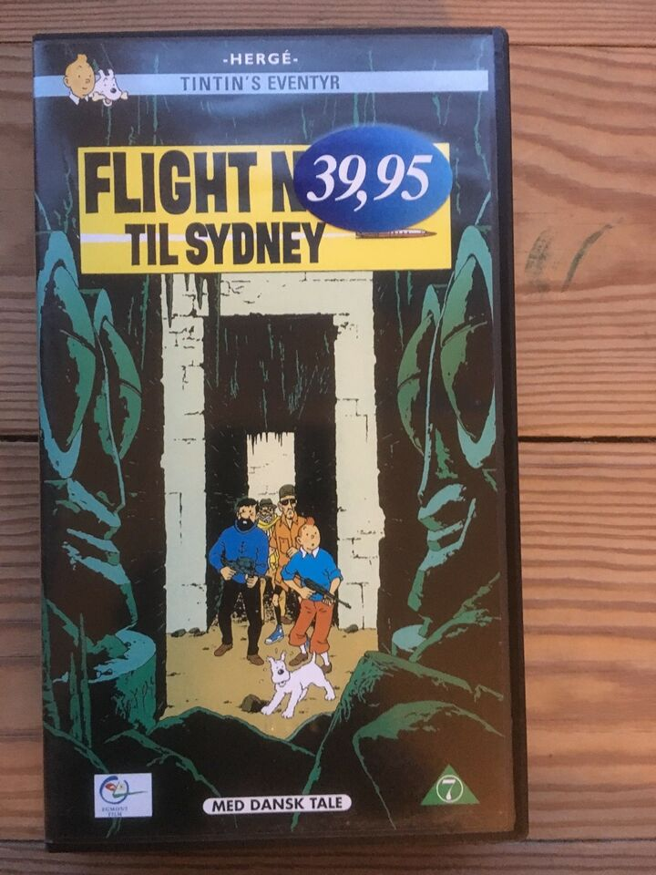 Animation, VHS: Tintin. Wallace & Gromit