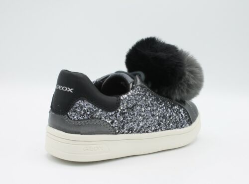 Details about  /Geox Shoes Baby With Glitter Grey /& Pom Women/'s Shoe J824MD DJ ROCK
