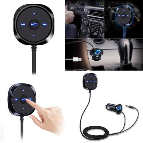 Handsfree Car AUX Speaker BT4.0 Wireless Music Receiver 3.5mm Adapter