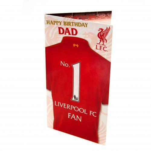 DAD Liverpool F.C Birthday Card
