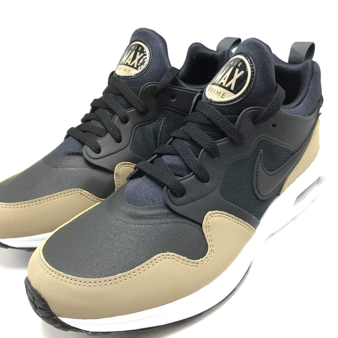 Nike Air Max Prime SL Men's Running shoes Black Black-Khaki-Dark Grey 876069-004