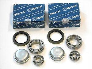 MERCEDES-E-W211-S211-2-x-MEYLE-RADLAGER-VORNE-LINKS-RECHTS
