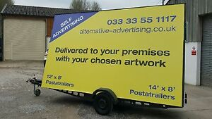 Details about Advertising Trailer / Mobile Billboard