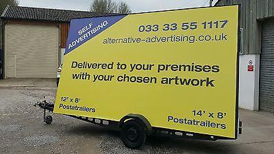 Advertising Trailer / Mobile Billboard | eBay
