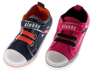Bambini-Lino-Scarpe-con-Chiusura-a-Strappo-Sneakers-Meta-Young-Shoes-Ragazza-Tg