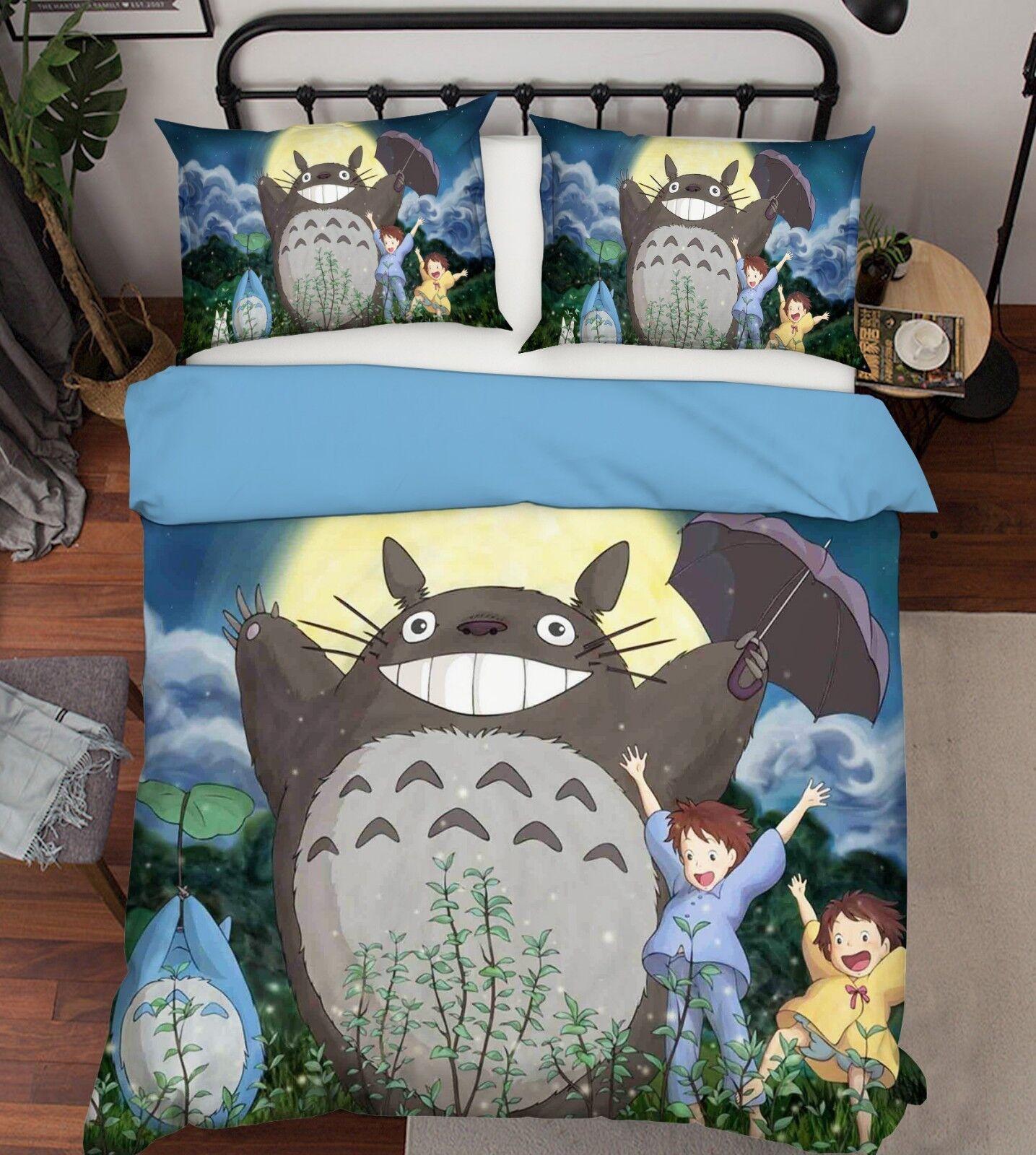3D Japan Anime 5091 Bett Pillowcases Quilt Duvet Startseite Set Single Königin König AU